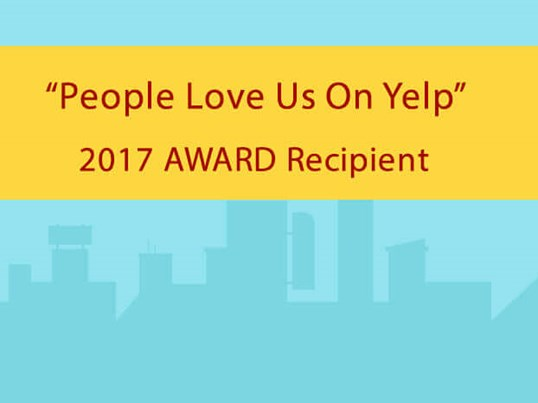 Dr. Lee wins in Henderson & LV Yelp Award - 2017