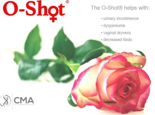 O-Shot helps urinary leaks